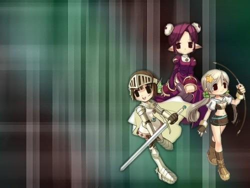 Ragnarok Online, Knight (Ragnarok Online), Hunter (Ragnarok Online), Priestess (Ragnarok Online) Wallpaper
