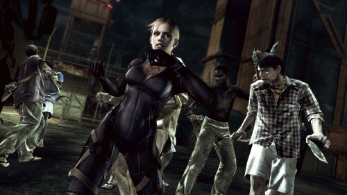 Capcom, Resident Evil 5, Jill Valentine, Official Digital Art
