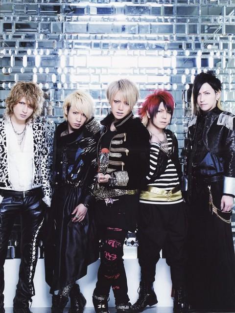 Saga (J-Pop Idol), Shou, Nao, Alice Nine, Tora