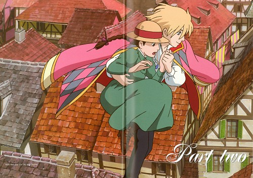 Studio Ghibli, Howl's Moving Castle, The Art of Howl's Moving Castle, Sophie Hatter, Howl Jenkins