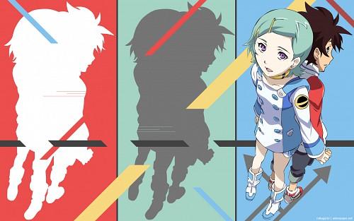 Kazuma Kondou, BONES, Eureka 7, Renton Thurston, Eureka Wallpaper
