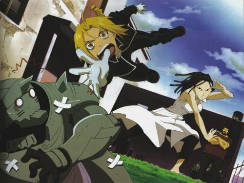 BONES, Fullmetal Alchemist, Sig Curtis, Izumi Curtis, Alphonse Elric