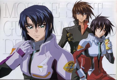 Sunrise (Studio), Mobile Suit Gundam SEED Destiny, Athrun Zala, Shinn Asuka, Kira Yamato
