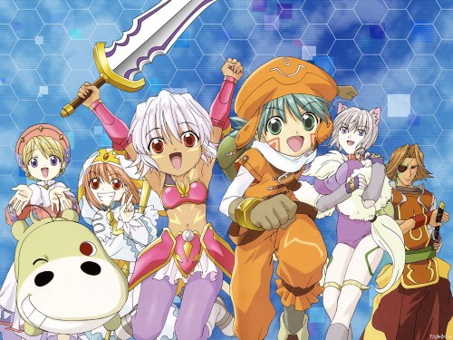 Rei Izumi, Yoshiyuki Sadamoto, Bee Train, .hack//Legend of the Twilight, Ouka (Legend of the Twilight) Wallpaper