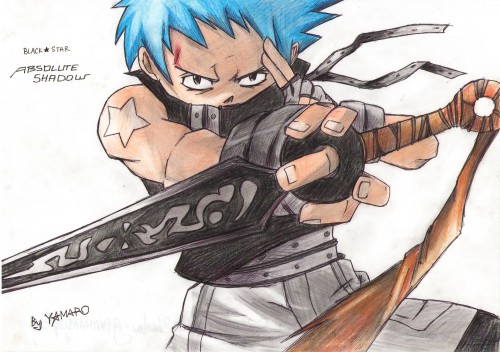 Soul Eater, Black Star, Member Art