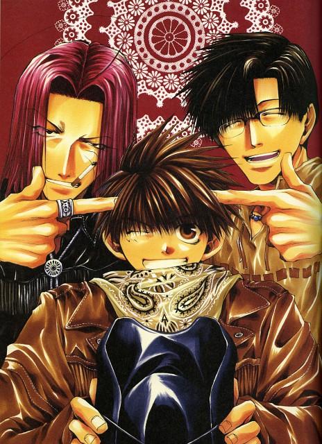 Kazuya Minekura, Studio Pierrot, Saiyuki, Salty Dog II, Sha Gojyo