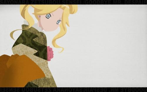 Kouji Kumeta, Shaft (Studio), Sayonara Zetsubou Sensei, Kaere Kimura Wallpaper
