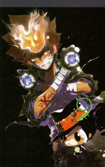 Akira Amano, Artland, Katekyo Hitman Reborn!, Colore!, Reborn (Character)