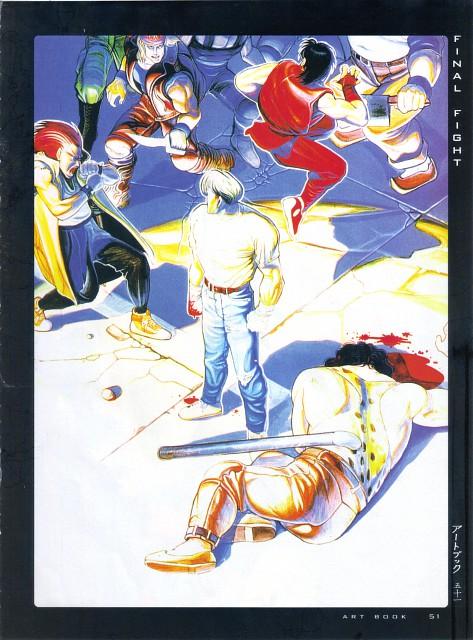 Capcom, Fight - Artbook IV, Street Fighter, J (Street Fighter), Hugo Andore