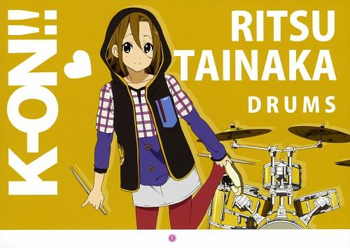 Kakifly, Kyoto Animation, K-On!, K-On! Mini Illustration Book, Ritsu Tainaka