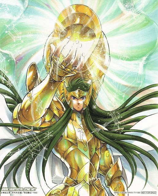 Shiori Teshirogi, Saint Seiya: The Lost Canvas, Aquarius Degel
