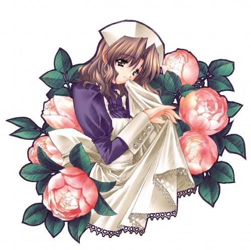 Carnelian, Kao no nai Tsuki Illust Collection CG, Kao no nai Tsuki, Tomomi Harukawa