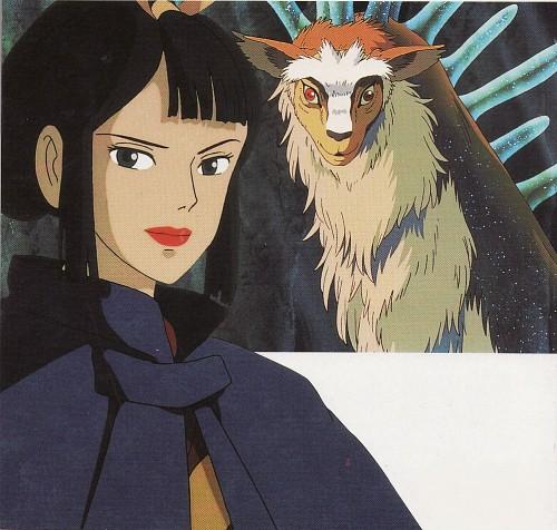 Hayao Miyazaki, Studio Ghibli, Princess Mononoke, Shishigami, Lady Eboshi