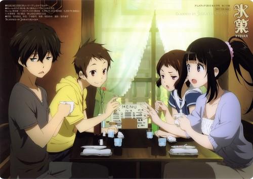 Makita Masaya, Kyoto Animation, Hyouka, Satoshi Fukube, Mayaka Ibara