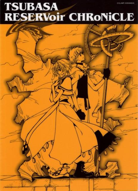 CLAMP, Tsubasa Reservoir Chronicle, Sakura Kinomoto, Syaoran Li, Pencil Board