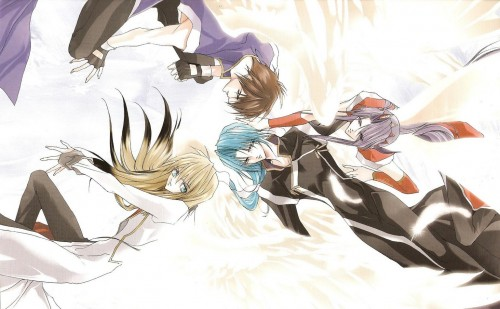 Sakura Asagi, Saint Beast, Rei (Saint Beast), Shin (Saint Beast), Goh (Saint Beast)