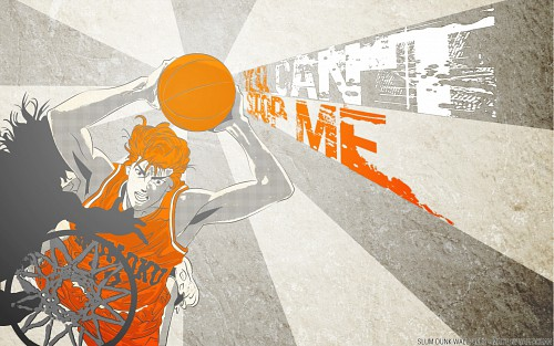 Slam Dunk, Hanamichi Sakuragi, Vector Art Wallpaper