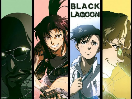 Rei Hiroe, Madhouse, Black Lagoon, Dutch, Revy Wallpaper