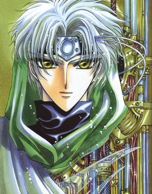 CLAMP, Magic Knight Rayearth, Magic Knight Rayearth 2 Illustrations Collection, Eagle Vision