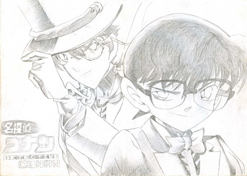 Detective Conan, Conan Edogawa, Kaito Kuroba, Member Art