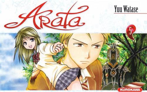 Yuu Watase, Arata Kangatari, Masato Kadowaki, Kotoha (Arata Kangatari), Manga Cover