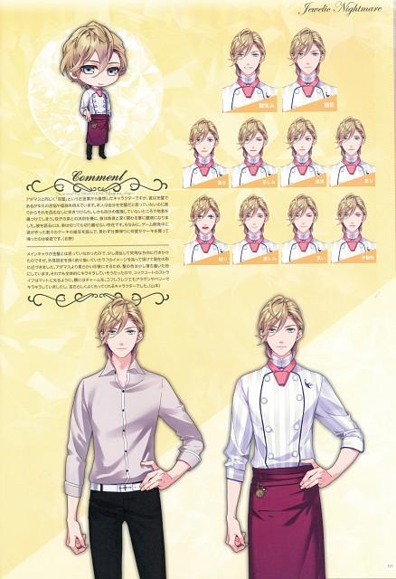 Kana Yamamoto, Idea Factory, Jewelic Nightmare Official Art Book, Jewelic Nightmare, Seiichirou Sumeragi