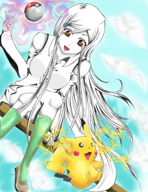 Bleach, Pokémon, Pikachu, Orihime Inoue, Member Art