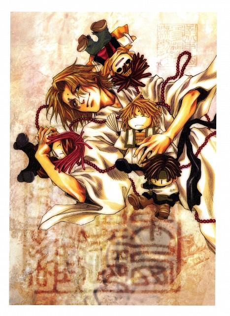 Kazuya Minekura, Studio Pierrot, Saiyuki, Salty Dog III, Kami-sama