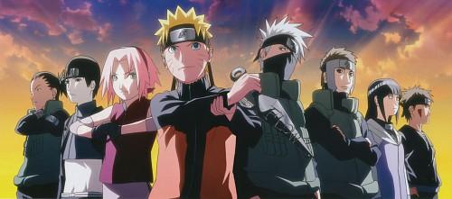 Studio Pierrot, Naruto, Naruto Uzumaki, Kiba Inuzuka, Sakura Haruno