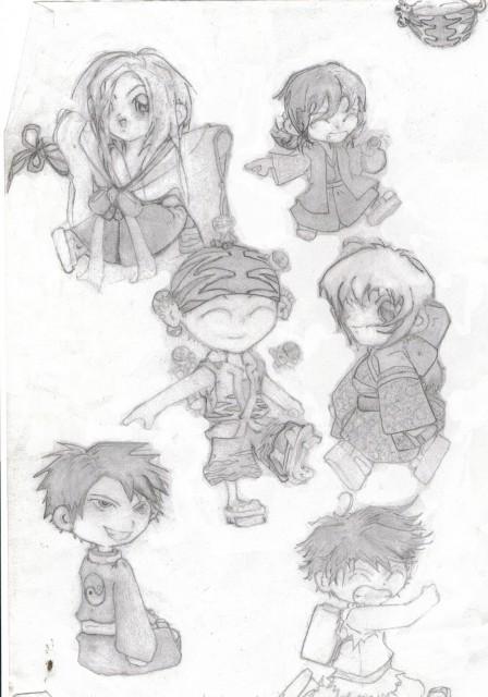 Studio Deen, Samurai Deeper Kyo, Benitora, Demon Eyes Kyo, Yukimura Sanada (SDK)