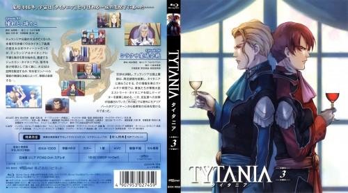 Tytania, Jouslain Tytania, Ariabart Tytania, DVD Cover