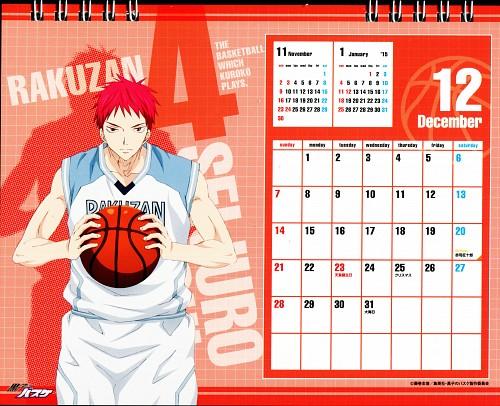Tadatoshi Fujimaki, Production I.G, Kuroko no Basket, Kuroko No Basket Calendar 2014, Seijuro Akashi