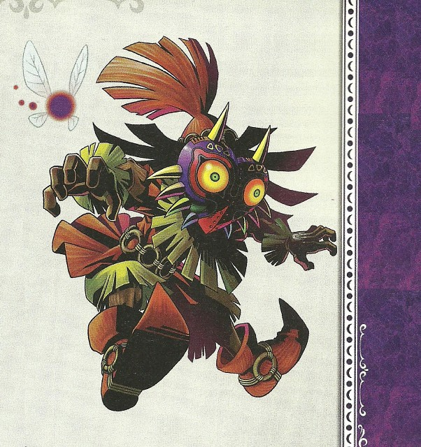 The Legend of Zelda: Majora's Mask, The Legend of Zelda, Skull Kid