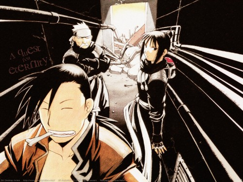 Hiromu Arakawa, BONES, Fullmetal Alchemist, Ling Yao, Fu (FMA) Wallpaper