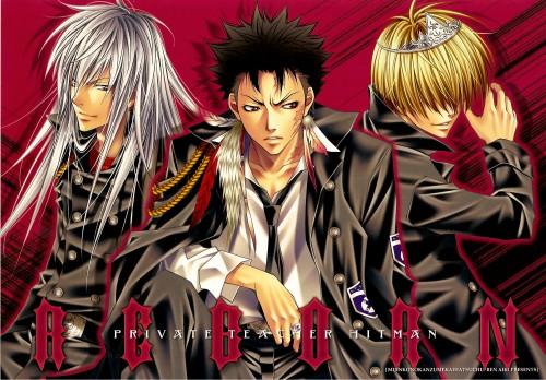 Aiki Ren, Katekyo Hitman Reborn!, Superbi Squalo, Belphegor (Katekyo Hitman Reborn!), Xanxus
