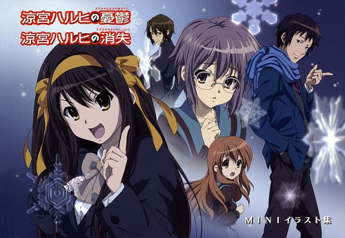 Kyoto Animation, The Melancholy of Suzumiya Haruhi, Suzumiya Haruhi Mini Illustration Book, Haruhi Suzumiya, Mikuru Asahina
