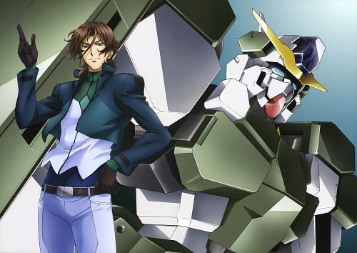 Sunrise (Studio), Mobile Suit Gundam 00, Mobile Suit Gundam 00 Illustrations Innovation, Lockon Stratos