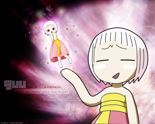 Shin-Ei Animation, Jungle wa Itsumo Hale Nochi Guu, Guu Wallpaper