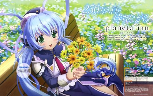 E-ji Komatsu, Key (Studio), Planetarian, Yumemi Hoshino, Dengeki G's Magazine