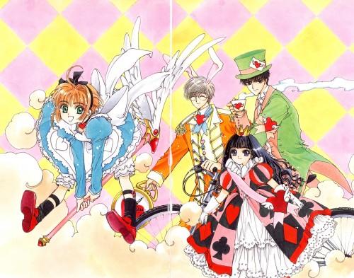 CLAMP, Cardcaptor Sakura, Cardcaptor Sakura Illustrations Collection 1, Sakura Kinomoto, Yukito Tsukishiro