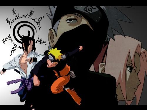 Masashi Kishimoto, Studio Pierrot, Naruto, Sakura Haruno, Kakashi Hatake Wallpaper
