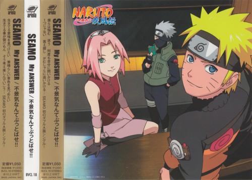 Studio Pierrot, Naruto, Naruto Uzumaki, Kakashi Hatake, Sakura Haruno