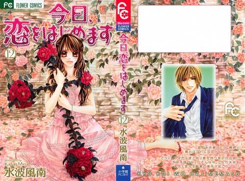 Kanan Minami, Kyou Koi wo Hajimemasu, Tsubaki Hibino, Kyota Tsubaki, Manga Cover