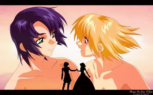 Hisashi Hirai, Sunrise (Studio), Mobile Suit Gundam SEED, Cagalli Yula Athha, Athrun Zala Wallpaper