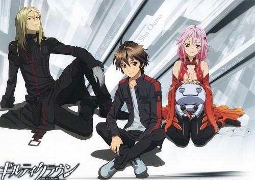 Production I.G, GUILTY CROWN, Inori Yuzuriha, Shu Ouma, Gai Tsutsugami
