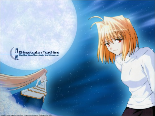 TYPE-MOON, Shingetsutan Tsukihime, Archetype Earth, Arcueid Brunestud Wallpaper