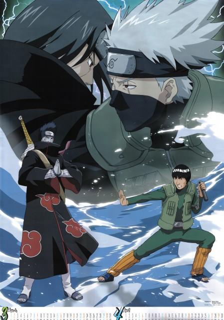 Studio Pierrot, Naruto, Itachi Uchiha, Gai , Kisame Hoshigaki