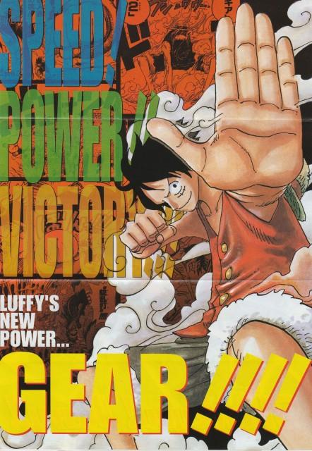 Eiichiro Oda, One Piece, Monkey D. Luffy