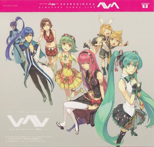 Hidari, Vocaloid, Len Kagamine, Kamui Gakupo, Rin Kagamine
