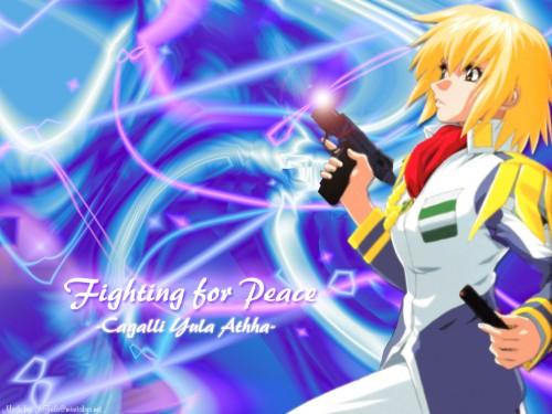 Hisashi Hirai, Sunrise (Studio), Mobile Suit Gundam SEED, Cagalli Yula Athha Wallpaper